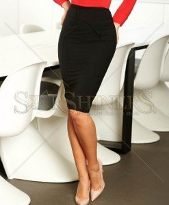 Fusta Artista Feminine Curves Black - Fuste -