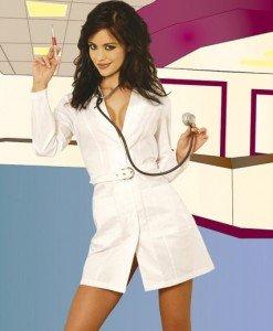 G226 Costum tematic asistenta sexi - Asistenta Medicala - Haine > Haine Femei > Costume Tematice > Asistenta Medicala