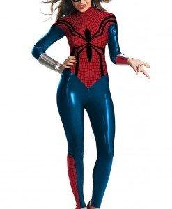 G316 Costum Halloween- salopeta Spiderman - Super Eroi - Haine > Haine Femei > Costume Tematice > Super Eroi