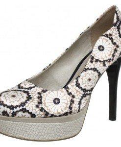 GDY109 Pantofi cu toc si model vintage - Pantofi Dama - Incaltaminte > Incaltaminte Femei > Pantofi Dama