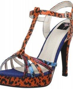 GDY72 Sandale de vara cu model animal print - Sandale dama - Incaltaminte > Incaltaminte Femei > Sandale dama