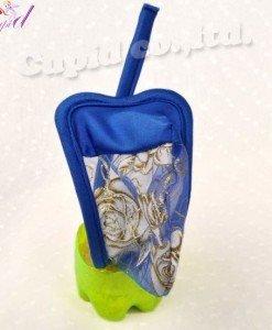 GSM30 Chilot invizibil c-string cu model floral auriu - Lenjerii - Haine > Haine Barbati > Lenjerii