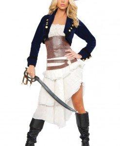 H147 Costum Halloween pirat - Pirat - Haine > Haine Femei > Costume Tematice > Pirat