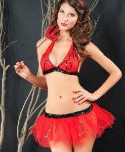 H219 Costum Tematic Dracusor - Inger & Dracusor - Haine > Haine Femei > Costume Tematice > Inger & Dracusor