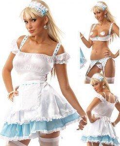 H23 Costum tematic menajera sexy - Menajera - Haine > Haine Femei > Costume Tematice > Menajera