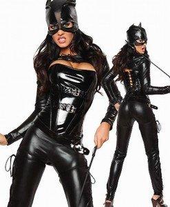J117 Costum tematic CatWoman - Feline - Haine > Haine Femei > Costume Tematice > Animalute > Feline