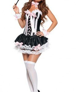 J132 Costum tematic menajera - Menajera - Haine > Haine Femei > Costume Tematice > Menajera