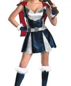 J142 Costum tematic Thor - Basme si Legende - Haine > Haine Femei > Costume Tematice > Basme si Legende