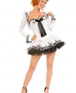 J217 Costum carnaval marinar - Armata - Marinar - Haine > Haine Femei > Costume Tematice > Armata - Marinar