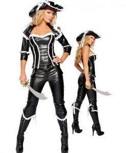 J225 Costum tematic pirat - Pirat - Haine > Haine Femei > Costume Tematice > Pirat