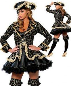 J31 Costum tematic de pirat - corsar - Pirat - Haine > Haine Femei > Costume Tematice > Pirat