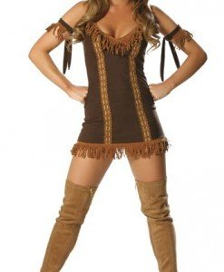 J42 Costum tematic Pocahontas - Cowboy - Indian - Haine > Haine Femei > Costume Tematice > Cowboy - Indian