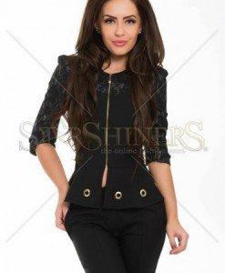 Jacheta LaDonna Classy Madam Black - Jachete -