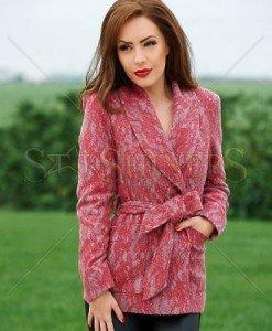 Jacheta LaDonna Winsome Look Red - Jachete -
