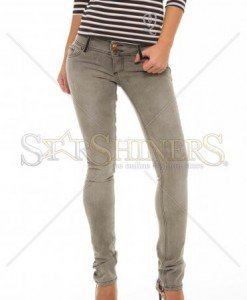 Jeans MissQ Simple Touch Brown - Blugi -