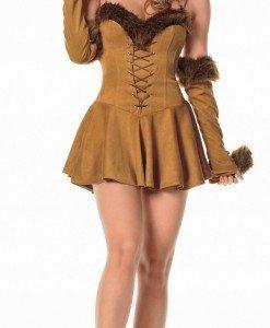 K100 Costum Halloween ursulet - Animalute - Haine > Haine Femei > Costume Tematice > Animalute