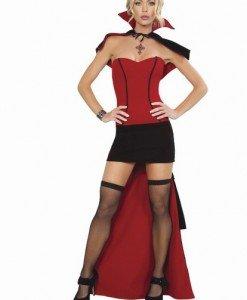 K145 - Costum Tematic - Vampir - Vrajitoare - Vampir - Haine > Haine Femei > Costume Tematice > Vrajitoare - Vampir