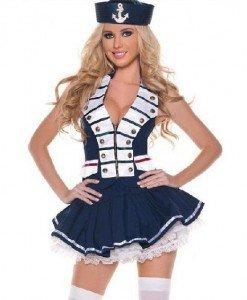 K224 Costum tematic marinar - Armata - Marinar - Haine > Haine Femei > Costume Tematice > Armata - Marinar