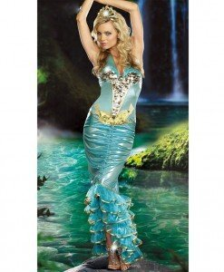 K225 Costum Halloween sirena - Basme si Legende - Haine > Haine Femei > Costume Tematice > Basme si Legende