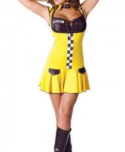 K228 Costum Tematic Sofer Taxi - Altele - Haine > Haine Femei > Costume Tematice > Altele
