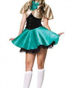 K38 Costumatie carnaval spiridus - Basme si Legende - Haine > Haine Femei > Costume Tematice > Basme si Legende