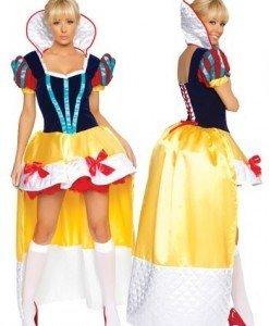 K41 Costumatie Carnaval Alba ca Zapada - Basme si Legende - Haine > Haine Femei > Costume Tematice > Basme si Legende