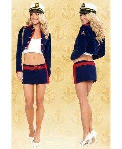 K92 Costum Tematic Marinar - Armata - Marinar - Haine > Haine Femei > Costume Tematice > Armata - Marinar