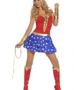 L101 Costum tematic Wonderwoman - Basme si Legende - Haine > Haine Femei > Costume Tematice > Basme si Legende