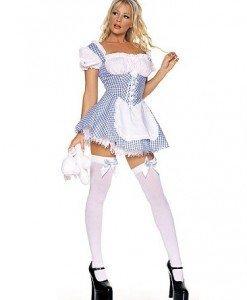 L167 Costum carnaval Alice in Tara Minunilor - Basme si Legende - Haine > Haine Femei > Costume Tematice > Basme si Legende