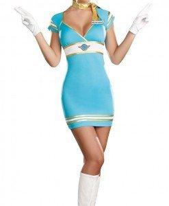 L250-122 Costum tematic stewardesa - Armata - Marinar - Haine > Haine Femei > Costume Tematice > Armata - Marinar