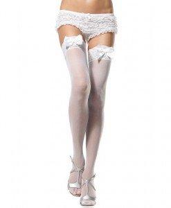 L97 Accesoriu ciorapi eleganti cu fundite - Ciorapi dama - Haine > Haine Femei > Ciorapi si manusi > Ciorapi dama
