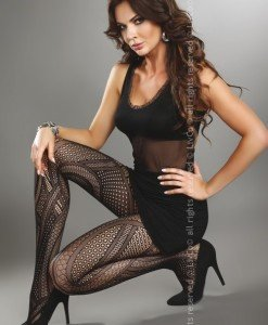 Livia Corsetti 217-1 Ciorapi sexy cu model din plasa - Ciorapi dama - Haine > Haine Femei > Ciorapi si manusi > Ciorapi dama