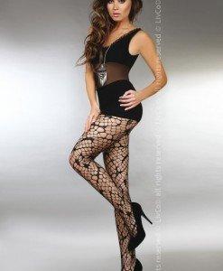 Livia Corsetti 218-1 Ciorapi sexy cu model din plasa - Ciorapi dama - Haine > Haine Femei > Ciorapi si manusi > Ciorapi dama