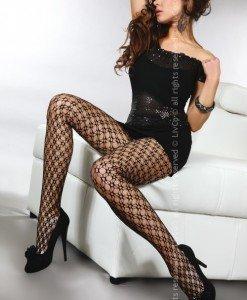 Livia Corsetti 221-1 Ciorapi sexy cu model din plasa - Ciorapi dama - Haine > Haine Femei > Ciorapi si manusi > Ciorapi dama