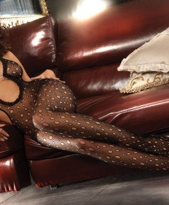 Livia Corsetti 78 Bodystocking sexi cu decupaje laterale - Bodystockings