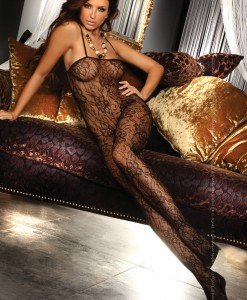 Livia Corsetti 80 Bodystocking sexi de seara cu model - Bodystockings