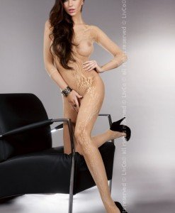 Livia Corsetti 89 Lenjerie bodystocking cu model - Bodystockings