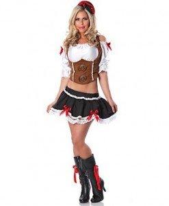 M103 Costum tematic chelnerita - Chelnerita - Haine > Haine Femei > Costume Tematice > Chelnerita