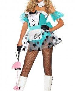 M164 Costum tematic Alice in Tara Minunilor - Basme si Legende - Haine > Haine Femei > Costume Tematice > Basme si Legende