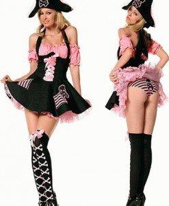 M19 Costum carnaval pirat - Pirat - Haine > Haine Femei > Costume Tematice > Pirat