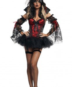 M6 Costum tematic vrajitoare - Vrajitoare - Vampir - Haine > Haine Femei > Costume Tematice > Vrajitoare - Vampir