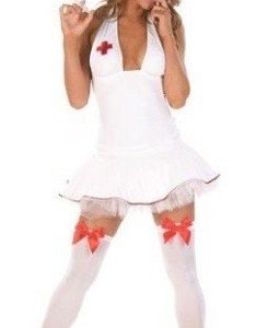 MM3 Costum asistenta medicala sexy - Asistenta Medicala - Haine > Haine Femei > Costume Tematice > Asistenta Medicala