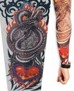 MNC39 Maneca Tatuata - Maneci tatuate - Haine > Haine Femei > Accesorii > Maneci tatuate