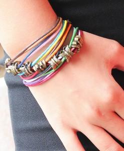 Multilayer charm butterfly bracelet - Accesorii - 0