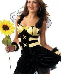 N160 Costum tematic albinuta - Animalute - Haine > Haine Femei > Costume Tematice > Animalute