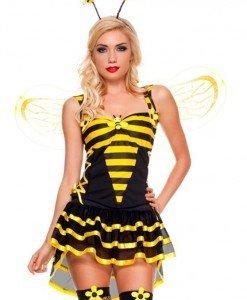 N161 Costum Tematic Albinuta - Animalute - Haine > Haine Femei > Costume Tematice > Animalute