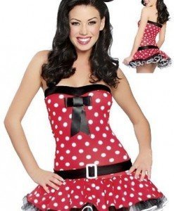 N18 Costum animatie Minnie Mouse - Animalute - Haine > Haine Femei > Costume Tematice > Animalute