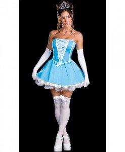 N317 Costum Halloween cenusareasa - Basme si Legende - Haine > Haine Femei > Costume Tematice > Basme si Legende