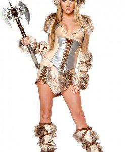 N95 Costum Halloween viking - Animalute - Haine > Haine Femei > Costume Tematice > Animalute