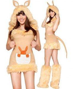 P210 Costum Halloween cangur - Animalute - Haine > Haine Femei > Costume Tematice > Animalute